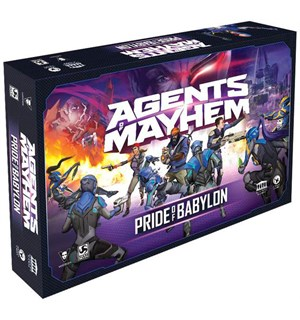 Agents of Mayhem Brettspill Pride of Babylon