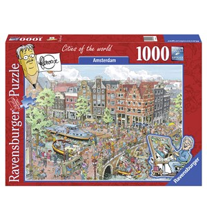 Amsterdam 1000 biter Puslespill Ravensburger Puzzle