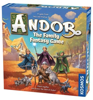 Andor Family Fantasy Game Brettspill