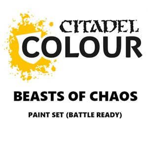 Beasts of Chaos Paint Set Battle Ready Paint Set for din hær