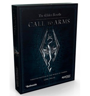 Call to Arms Core Rules Box The Elder Scrolls Miniature Game