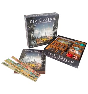 Civilization A New Dawn Insert Få kontroll i spillboksen