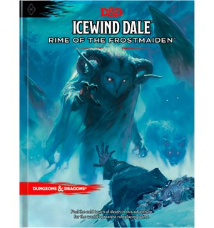 D&D Adventure Icewind Dale Rime of the Frostmaiden Level 1-12