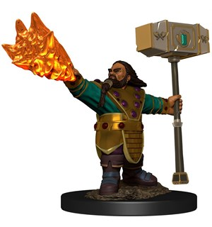 D&D Figur Icons Dwarf Cleric Male Icons of the Realm Premium Figures