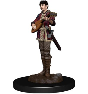 D&D Figur Icons Half-Elf Bard Female Icons of the Realm Premium Figures