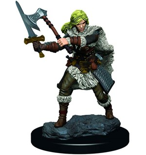 D&D Figur Icons Human Barbarian Female Icons of the Realm Premium Figures