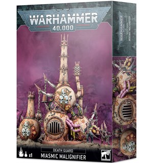 Death Guard Miasmic Malignifier Warhammer 40K Terreng