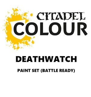 Deathwatch Paint Set Battle Ready Paint Set for din hær