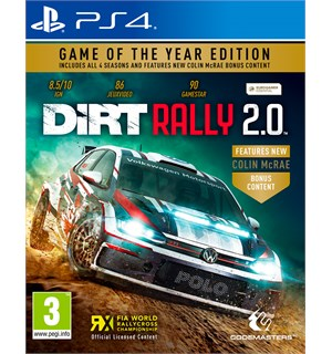 Dirt Rally 2.0 GOTY Edition PS4 Game of the Year Edition