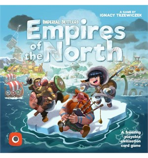Empires of the North Brettspill Et frittstående Imperial Settlers-spill!