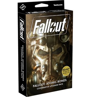 Fallout Atomic Bonds Upgrade Pack Utvidelse til Fallout Board Game