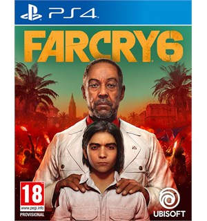 Far Cry 6 m/ bonus PS4 Pre-order og få The Libertad Pack DLC