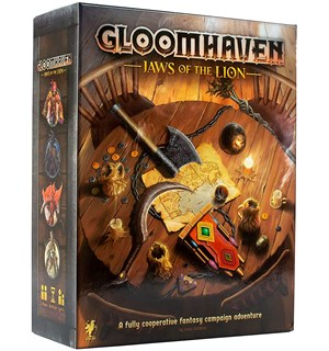 Gloomhaven Jaws of the Lion Brettspill