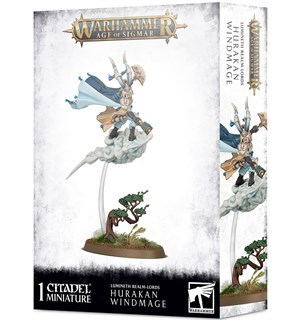 Lumineth Realm Lords Hurakan Windmage Warhammer Age of Sigmar