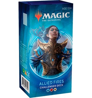Magic Challenger Deck Allied Fires Challenger Deck 2020 - Blå/Rød/Hvit