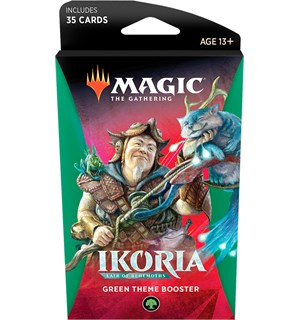 Magic Ikoria Theme Booster Green Lair of Behemoths - 35 grønne kort