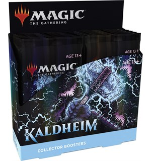 Magic Kaldheim COLLECTOR Display 12 boosterpakker - Fabrikkforseglet