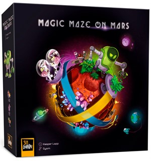 Magic Maze On Mars Brettspill