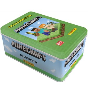 Minecraft Trading Cards Mega Tin Adventure Trading Cards - 48 kort++