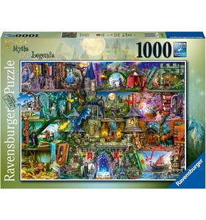 Myths & Legends 1000 biter Puslespill Ravensburger Puzzle