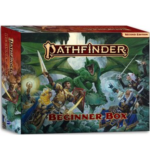 Pathfinder 2nd Ed Beginner Box Second Edition Startsett