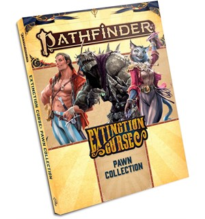 Pathfinder 2nd Ed Pawns Extinction Curse Second Edition RPG - 100+ Standees