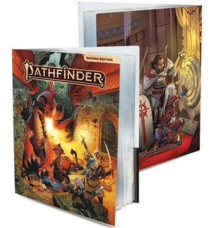 Pathfinder Character Folio - Red Dragon Pathfinder Second Edition