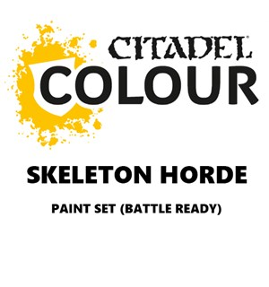 Skeleton Horde Paint Set Battle Ready Paint Set for din hær