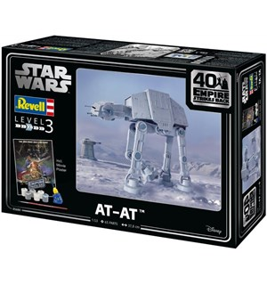 Star Wars AT-AT Starter Set Revell 1:53 Byggesett