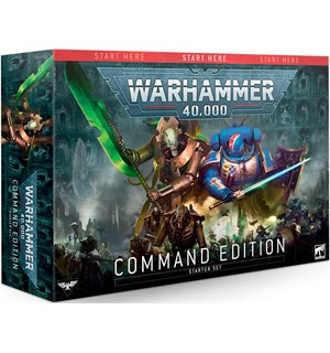 Warhammer 40K Command Edition Startsett for Warhammer 40K