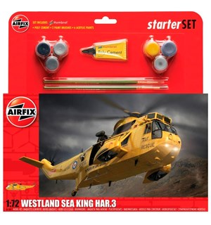 Westland Sea King Har.3 Starter Set Airfix 1:72 Byggesett