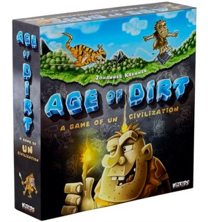 Age of Dirt Brettspill A Game of Uncivilization