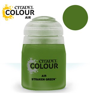 Airbrush Paint Straken Green 24ml Maling til Airbrush