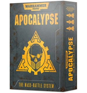Apocalypse The Mass-Battle System Warhammer 40K - Regelsett