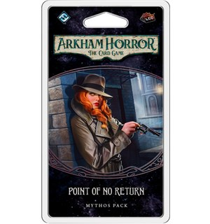 Arkham Horror TCG Point of No Return Utvidelse til Arkham Horror Card Game