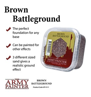 Army Painter Basing Brown Battleground Battlefield 4111 - 150ml