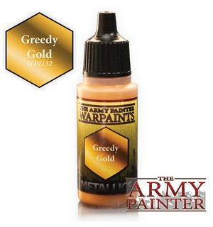 Army Painter Warpaint Greedy Gold