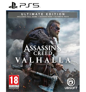 Assassins Creed Valhalla Ultimate PS5 Ultimate Edition m/ Season Pass ++