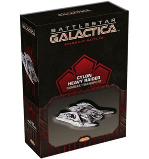 Battlestar Galactica Cylon Heavy Combat Starship Battles Utvidelse - Raider
