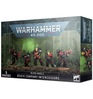 Blood Angels Death Company Intercessors Warhammer 40K