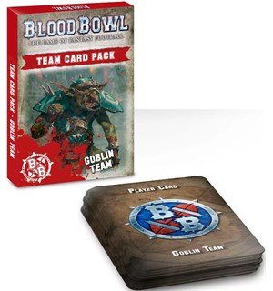 Blood Bowl Cards Goblin Team