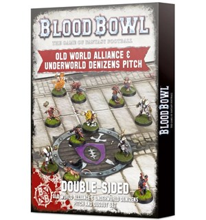 Blood Bowl Pitch Old World + Underworld