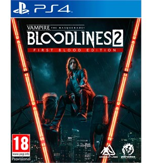 Bloodlines 2 First Blood Edition PS4 Vampire The Masquerade