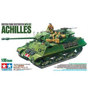 British Tank Destroyer M10 IIC Achilles Tamiya 1:35 Byggesett