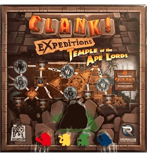 Clank Temple of the Ape Lords Expansion Utvidelse til Clank