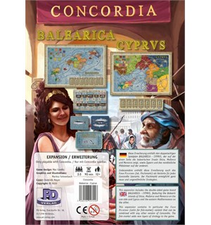 Concordia Balearica/Cyprus Expansion Utvidelse til Concordia
