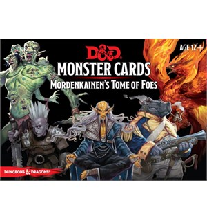 D&D Cards Monster Mordenkainen Tome Foes Dungeons & Dragons - 109 kort