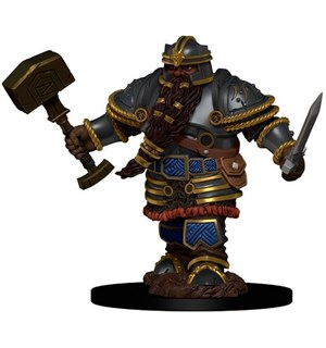 D&D Figur Icons Dwarf Fighter Male Icons of the Realm Premium Figures