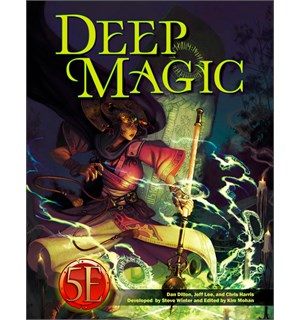 D&D Suppl. Deep Magic Dungeons & Dragons Supplement