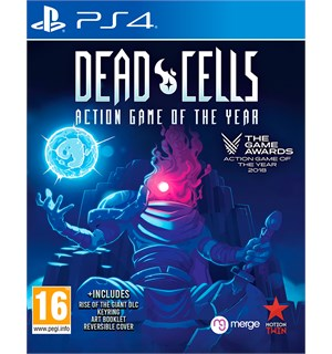 Dead Cells GOTY Edition PS4 Med DLC, nøkkelring og artbook